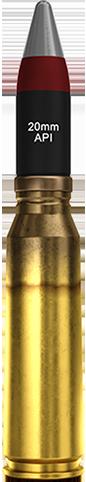 20x102mm (API)