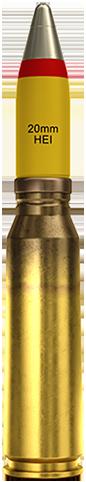 20x102mm (HEI)